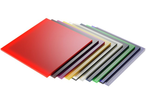 Acrylic colour sheets cutlasercut